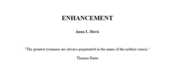 EnhancementTitlePage