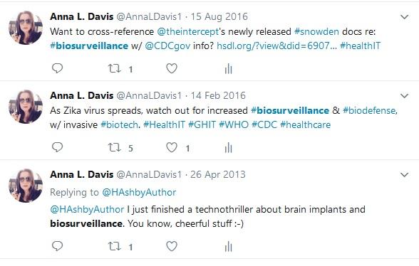 Tweet re biosurveillance